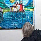 Ausstellung im Kunsthaus Schmalkalden: Egon Kayser, Malerei