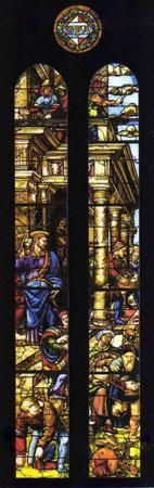la Cacciata dei mercanti dal Tempio, (1522-1524)