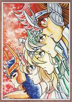 Los 5 Bronze Saints que finalmente se volvieron protagonistas: Seiya, Shiryû, Hyôga, Shun e Ikki.