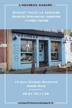 Boutique L'Heureux Hasard à Trentemoult, 40 artisans créateurs locaux