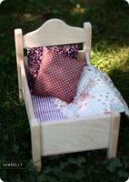 Купить кроватку для куклы из натурального дерева в санкт-петербурге