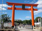 和田神社の鳥居