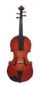 geige musikinstrument christbaumschmuck musikgirlande