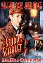 Reginald Owen dans Une étude en rouge (1933)