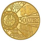 NOTRE-DAME DE PARIS 50 EURO OR