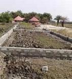 Bau des Fundamentes