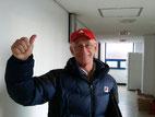 Ehrenmitglied Paul Lissek, amtierender Trainer Südkoreas, steht nach 2 Niederlagen unter Druck.