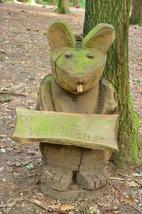 Die Waldmaus - das Maskotchen des Waldkindergartens in Heiden.