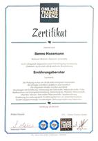 Zertifikat Ernährungsberatung Abnehmen