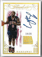 TIM HARDAWAY / Flawless USA Auto - No. R-TH  (#d 14/25)