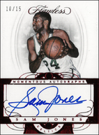 SAM JONES / Momentous Autographs - No. MA-JS  (#d 10/15)