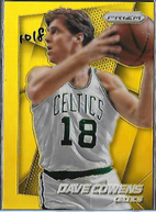 DAVE COWENS / Prizm Gold - No. 217  (#d 10/10)