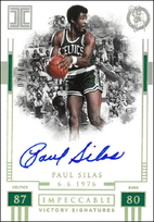 PAUL SILAS / Victory Signatures - No. IV-PSL  (#d 2/10)