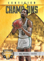 BILL RUSSELL / Certified Champions - No. 13  (#d 8/25)