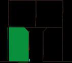 生野区舎利寺3丁目 1号地区画図