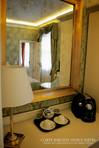 Deluxe room at Corte Barozzi Venice