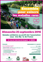 LMC FRANCE BALADE SOLIDAIRE GROUPAMA FONDATION GEMENOS MAIRIE World CML Day 2016