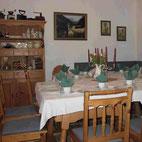 Gemütliche Stube im Lenggrieser Bauernhofcafè