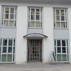 Foto zeigt Eingang Staatliche Bibliothek