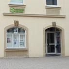 Foto zeigt Eingang zu Kunsthaus Reitbahn 3
