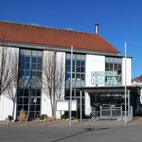 Foto zeigt Eingang Tagungszentrum Onoldia