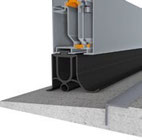 Iso60 Sektionaltor Bodendichtung