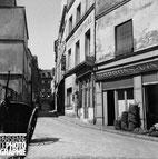 Bougnat rue Laplace 5ème en 1956