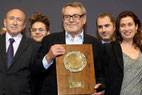 Festival Lumière à Lyon en 2010, avec Milos Forman, en invité d'honneur