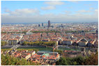 LYON PANORAMIQUE DEPUIS FOURVIERE
