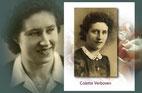 Colette Verboven als jonge vrouw