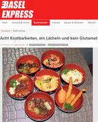 Acht Kostbarkeiten, ein Lächeln und kein Glutamat - Chinarestaurant-Taiyang im Basel Express November 2015