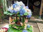 青葉祭り花御堂