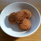 きな粉と地粉のマクロビクッキー