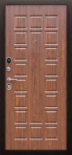 входная дверь стандарт итальянский орех