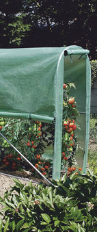 ©Nortene, Tomato Greengousse, serre tunnel pour potager, culture de tomates