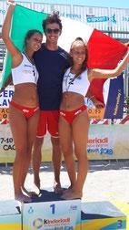 Letizia, Alessio e Ludovica campioni d'Italia