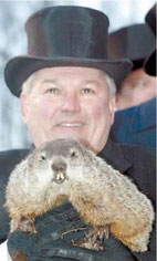 АиФ Европа.Фото Punxsutawney Groundhog Club «Groundhog day»