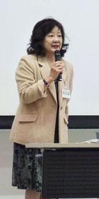 会長 吉澤結子(秋田県立大学生物資源科学部教授)