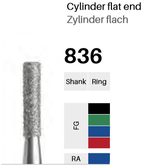 FG-Diamant 836, Zylinder flach