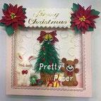 《ハッピークリスマス》           クリスマスツリー作りにちょっとこだわってみました。
