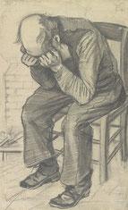 「悲しむ老人」(1882年)