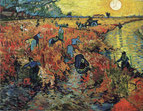 「赤いブドウ園」(1888年)