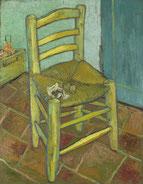 「ファン・ゴッホの椅子」(1888年)