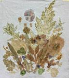 Bild aus Pflanzenfarben durch Hapa Zome Technik