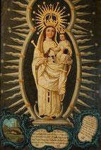 Santa María del Valle, titular de nuestro monasterio