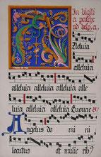 enluminure du XVIe siècle