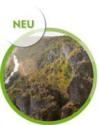 Wanderer auf Arnsberger Leite im Altmühltal