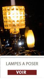 Les lampes à poser vintage