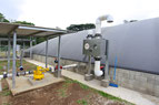 Valvula control de presion en biodigestores