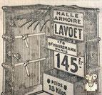 malle ancienne armoire boulevard Haussmann